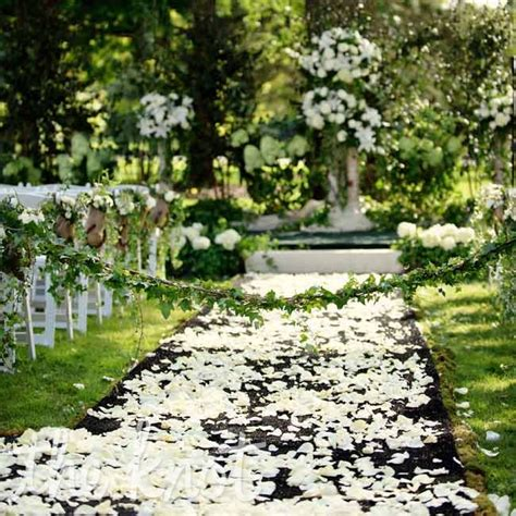 wedding aisle on grass 301 moved permanently
