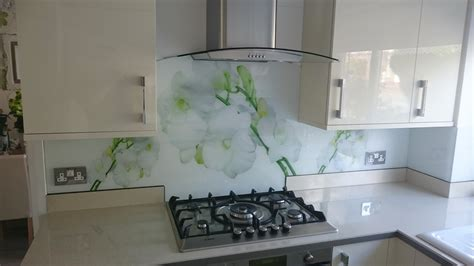 glass design for kitchen printed glass splashbacks for kitchens colour 2 glass
