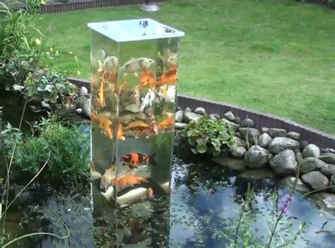Schwimmteich Mit Fischen by Mein Schwimmteich Im Garten Ein Aussichtsturm F 252 R Fische