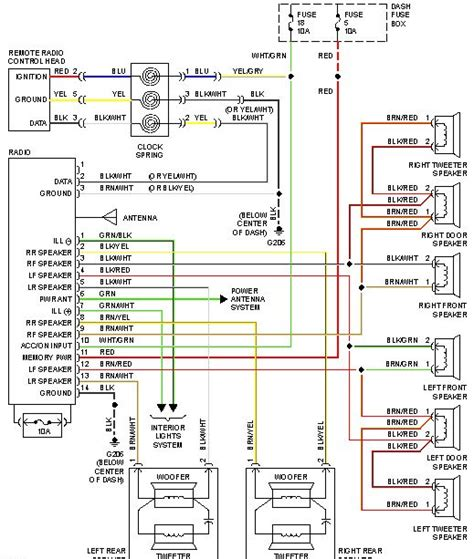 2000 hyundai accent stereo wiring diagram accent