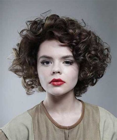short thick curly hairstyles short hairstyles