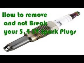 Ford 5 4 Spark Removal Diy Ford 5 4 3v Spark Removal Without Breaking Plugs