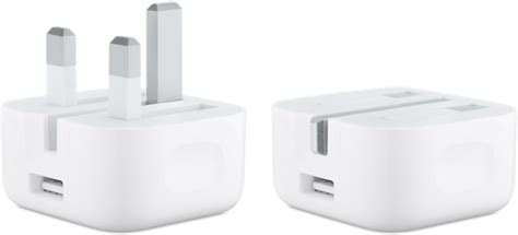 apple charger uk apple introduces new 5w charger with folding pins in