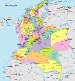 map of colombia south america maps map pictures