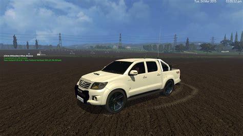 Toyota Fs Toyota Hilux City Version For Fs 15 Farming Simulator