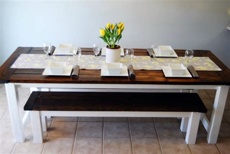 ana white table bench ana white farmhouse table and benches diy projects