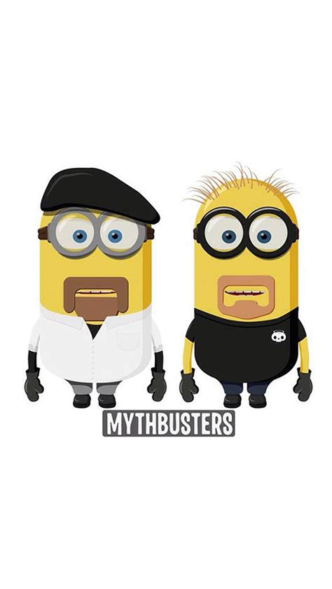 wallpaper asus t001 mythbusters minions animation
