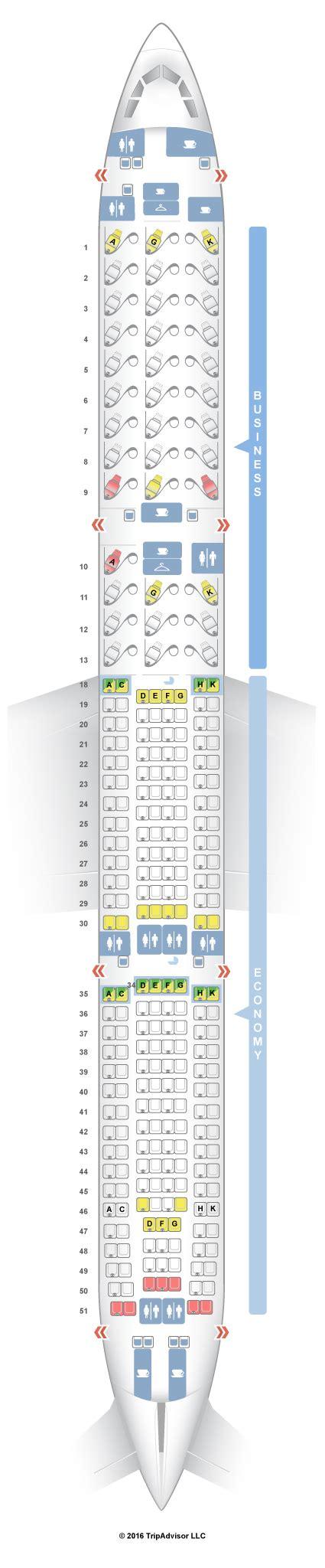seatguru seat map air canada airbus a330 300 333 v1