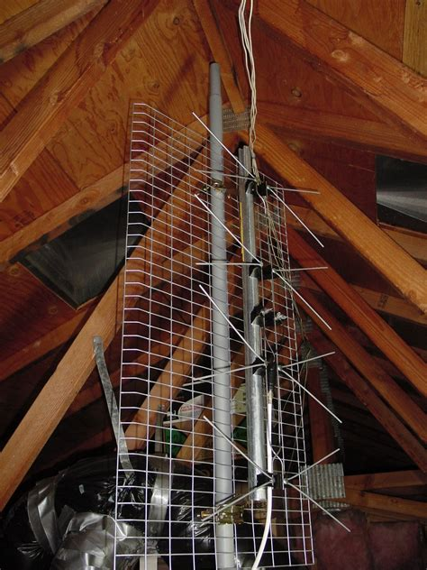 my attic antenna installation