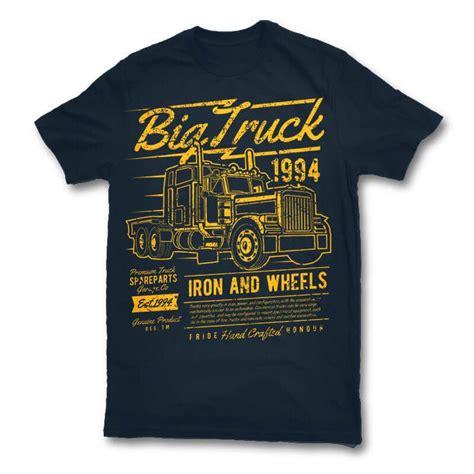 Big Truck T Shirt big truck 2 vector t shirt design buy t shirt designs