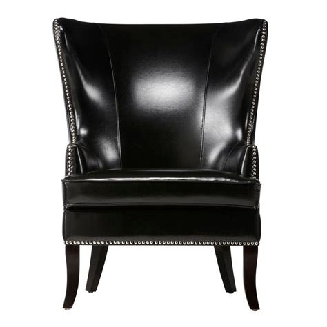 Home Decorators Accent Chairs by Home Decorators Collection Black Wing Back Accent