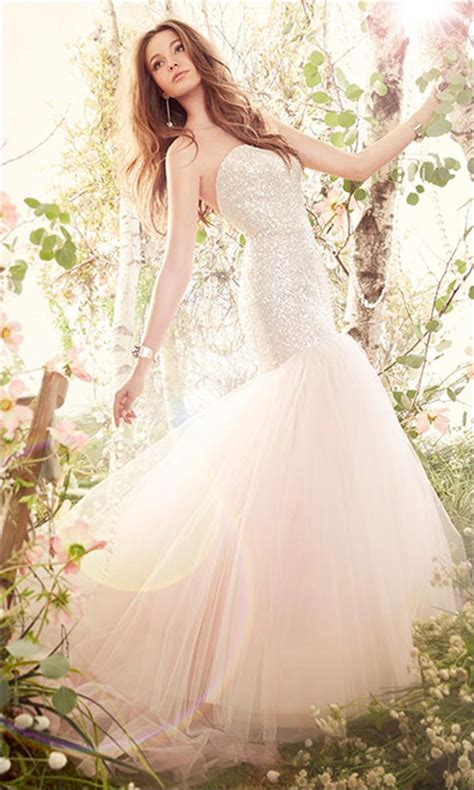 blush colored wedding dresses say yes to the colored dress 9 spectacularly colorful