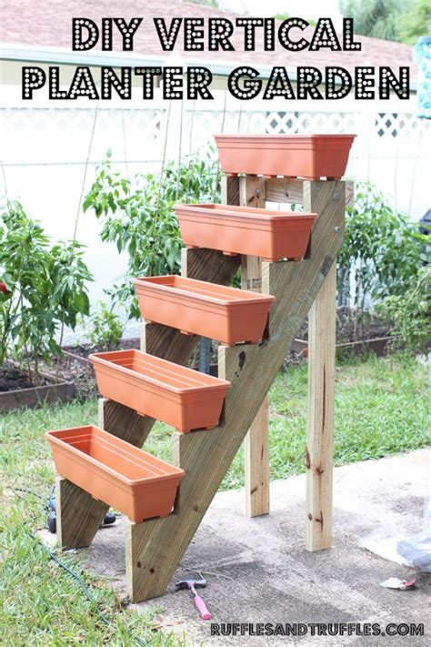 How To Make A Herb Planter by Diy Vertical Planter Garden