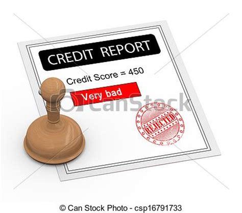doodle free credit report drawings of 3d bad credit score report 3d illustration