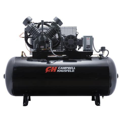 air compressor 120 gallon 2 stage cbell hausfeld ce8001fp