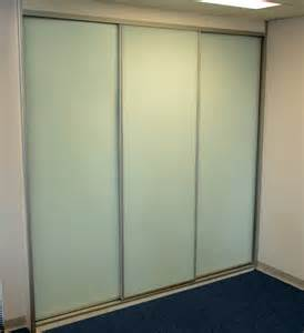 Vinyl Doors Mirror And Glass Wardrobe Doors
