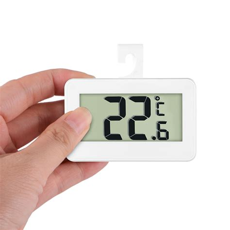 Thermometer Freezer digital refrigerator thermometer waterproof lcd freezer