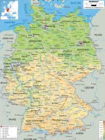 map of germany and cities maps of germany detailed map of germany in tourist map of germany road map of