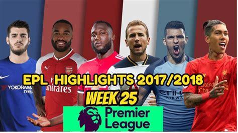 Epl Highlights Youtube | epl highlights week 25 spurs 2 0 man utd chelsea 0 3