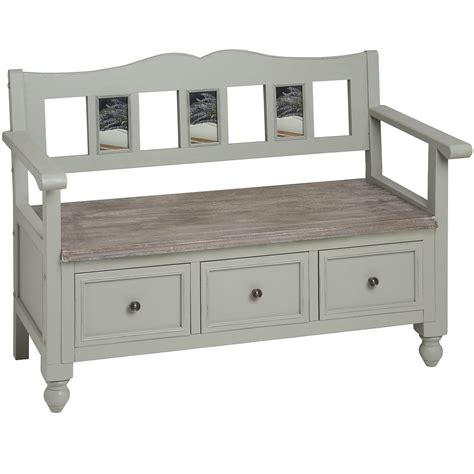shabby chic storage bench lyon grey storage bench bedroom furniture direct