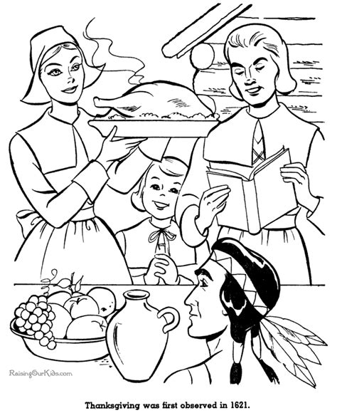 coloring page of thanksgiving dinner dinner coloring sheets coloring pages