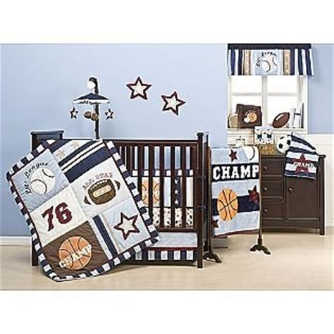 Sports Baby Crib Bedding Nursery Room Ideas Sport Theme Baby Crib Bedding Set