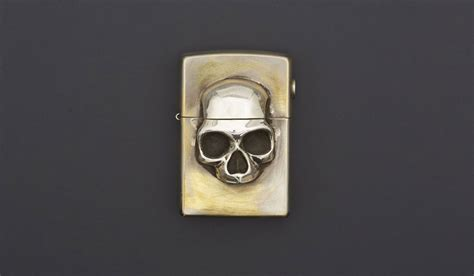 how to light a zippo custom skull zippo lighter muted