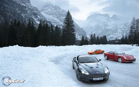 top gears finest cars  snow  top gear
