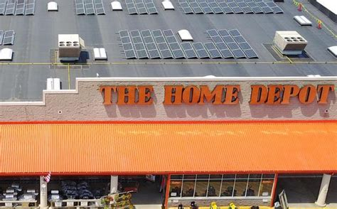home depot to add rooftop solar systems to 50 store
