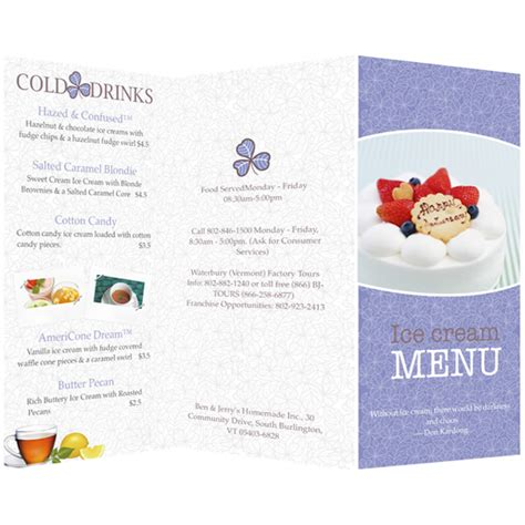 menu templates sles menu maker publisher plus