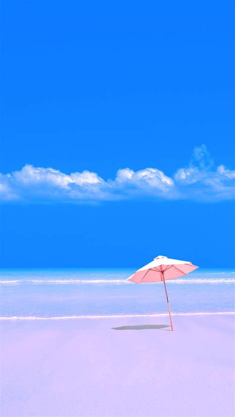 wallpaper phone beach umbrella wallpaper samsung
