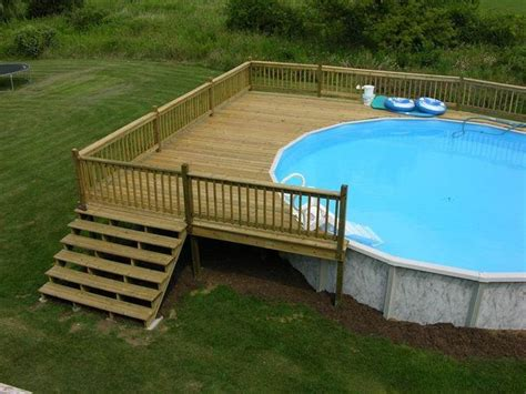image result   ft  ground pool deck plans