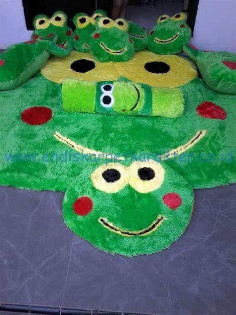 Karpet Karakter Set Keroppi kasur karpet karakter keroppi endis karpet karakter