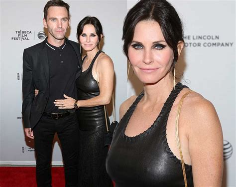Courteney Cox Stuns With by Pics Courteney Cox Just Before I Go Premiere