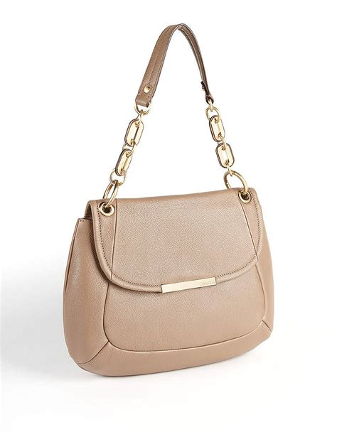 Ck 198 Cosmetic Bag calvin klein leather hobo shoulder bag in beige cosmetic
