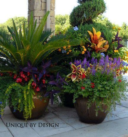 ideas for garden pots beautiful container gardening ideas and plant names