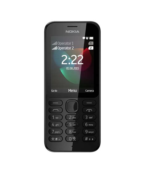 Nokia Senter Dual Sim nokia rm 1136 nokia222ds dual sim best price in india on