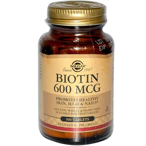 Solgar, Biotin, 600 mcg, 100 Tablets   iHerb.com