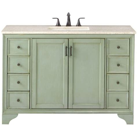 home depot bathroom sinks with cabinet cottage bathroom vanities bath the home depot