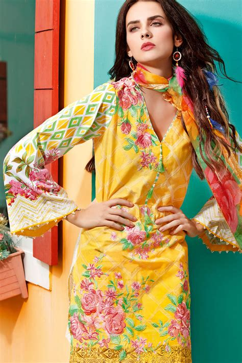 New Collection gul ahmed summer lawn collection 2017 18