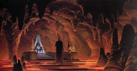 wars the throne room snoke s throne room in wars the last jedi inspired by darth vader s mustafar castle