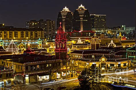 kansas city plaza at christmas by carolyn fox