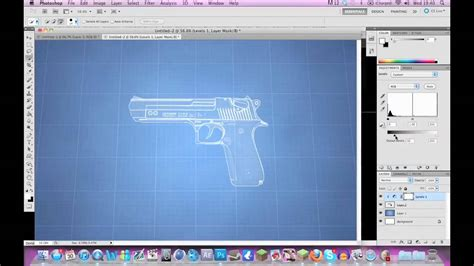 how to create a blueprint effect in photoshop cs6 youtube simple blueprint effect photoshop cs5 tutorial w voice