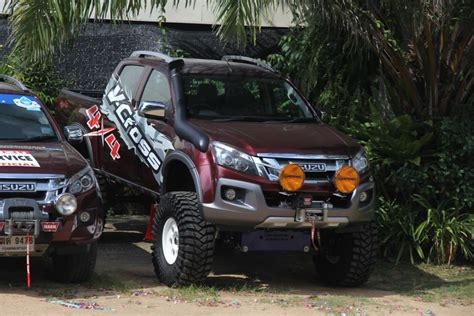 isuzu dmax lifted dmax lift check out this one australian 4wd action