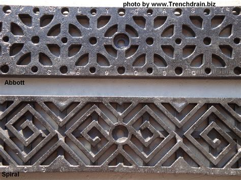 Decorative Grates by Decorative Grating Options For Polycast 600 Trenchdrainblog