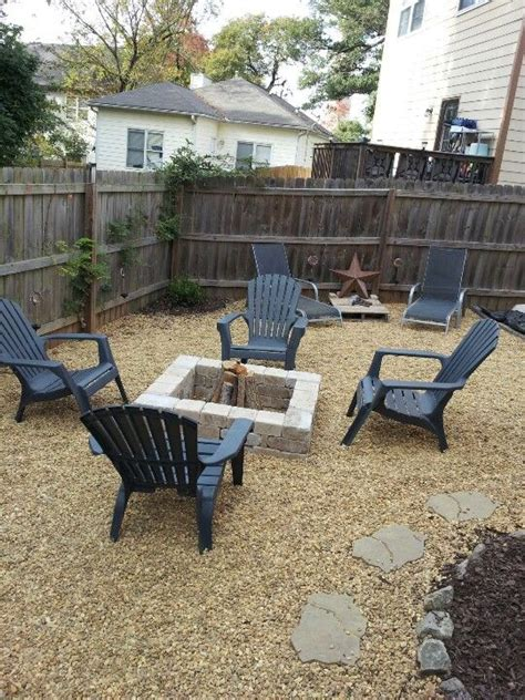 diy pit area diy pit and gravel outdoor area i really pefer the