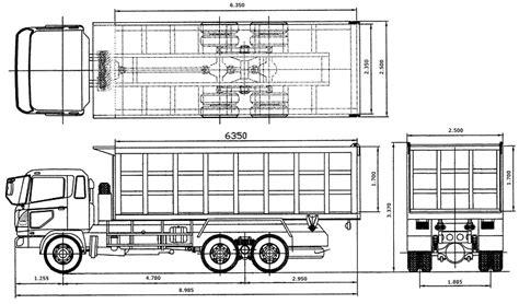 Roda Kapasitas 1 Ton maygunrifanto ukuran dump truck