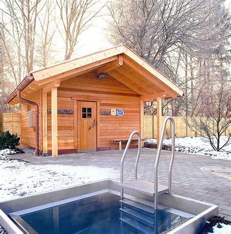 building  outdoor wood burning sauna   build  house