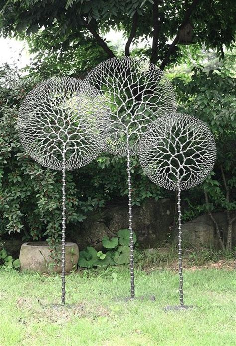 metal lawn garden sculptures lawn