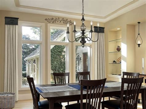 dining room window ideas dining room window treatment home decorating ideas